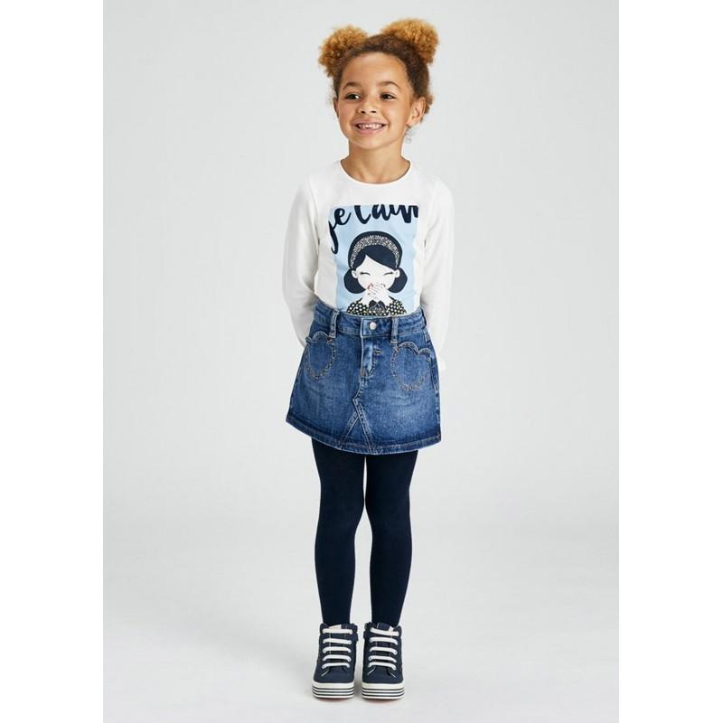 Jupe jean fille