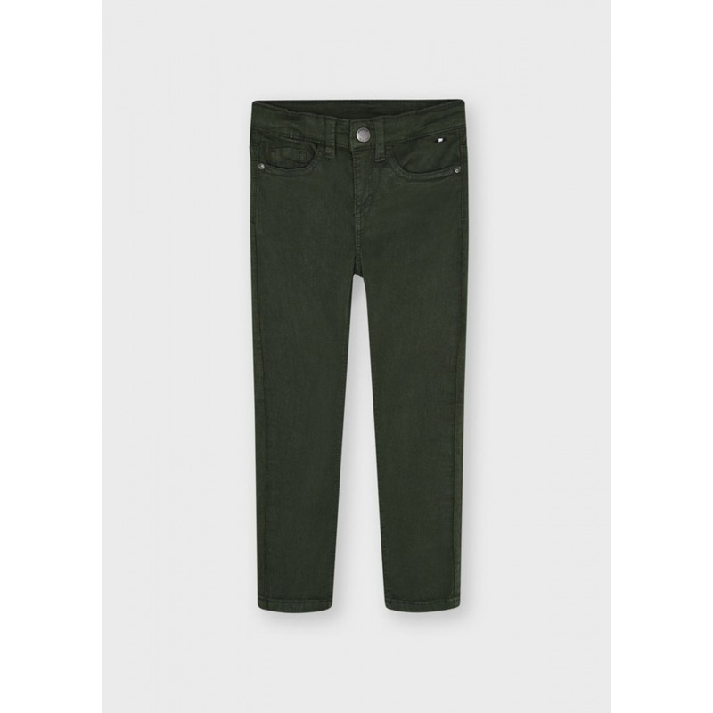 Pantalon long basique slim...