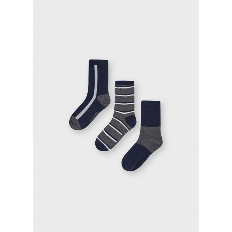 Set 3 chaussettes à rayures...