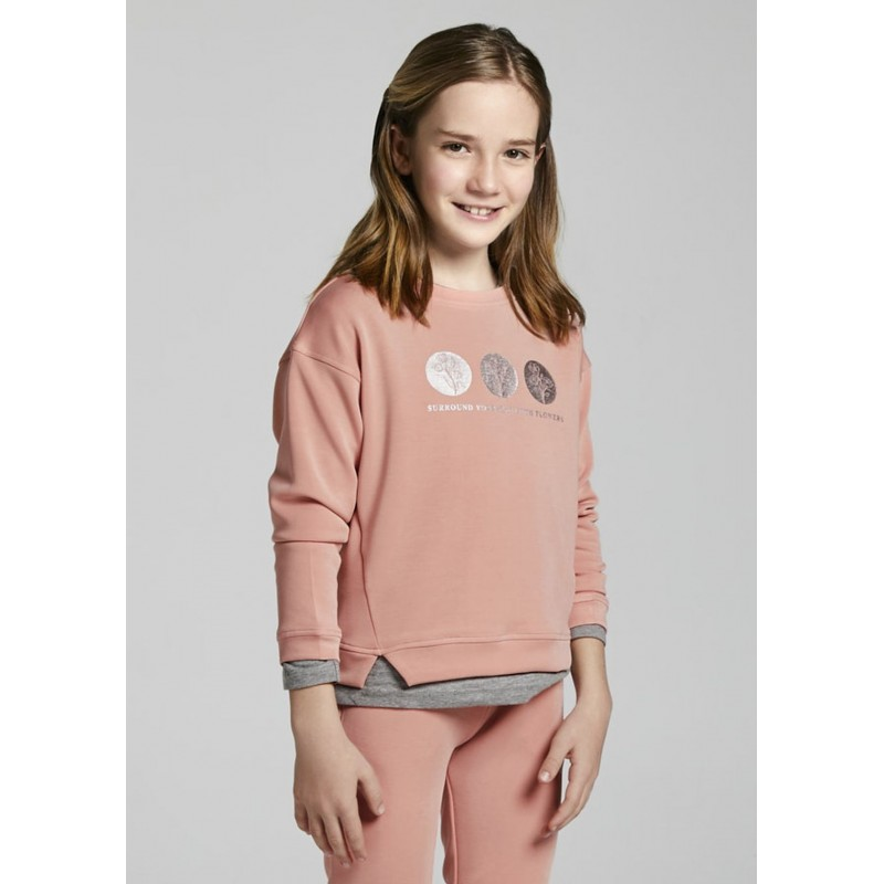 Sweat soft touch fille