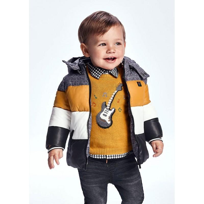 Veste blocs bébé garçon