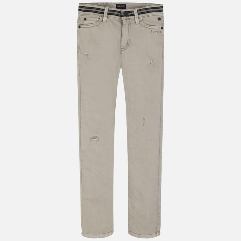 Pantalons longs cassés...