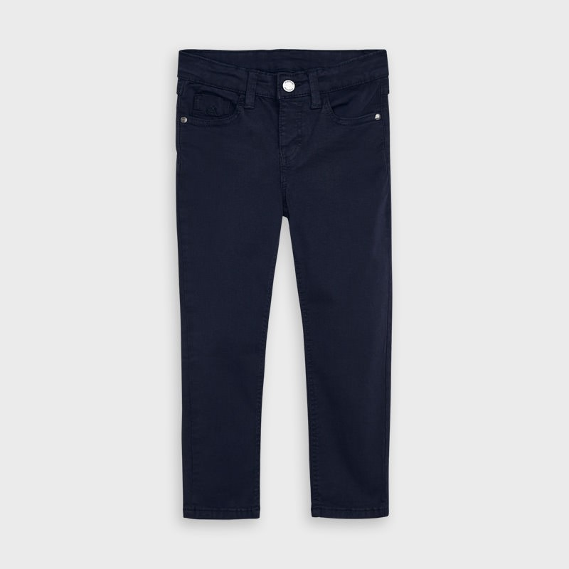 Pantalon long poches slim...