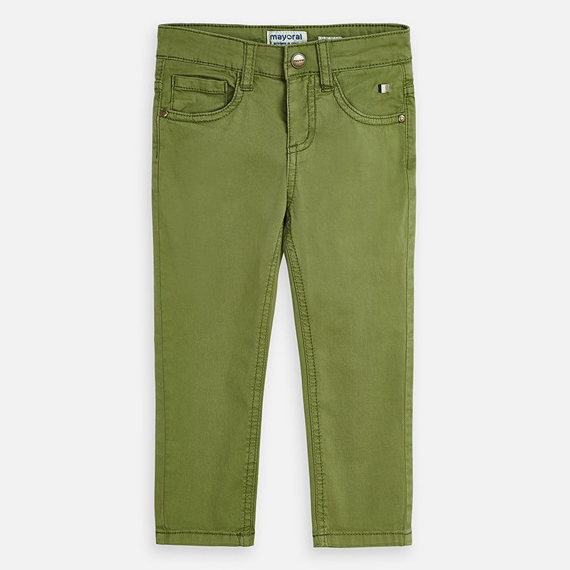 Pantalon basique slim fit...