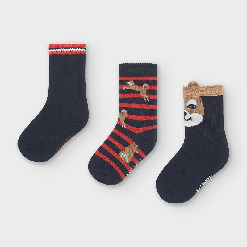 Set 3 chaussettes chien...