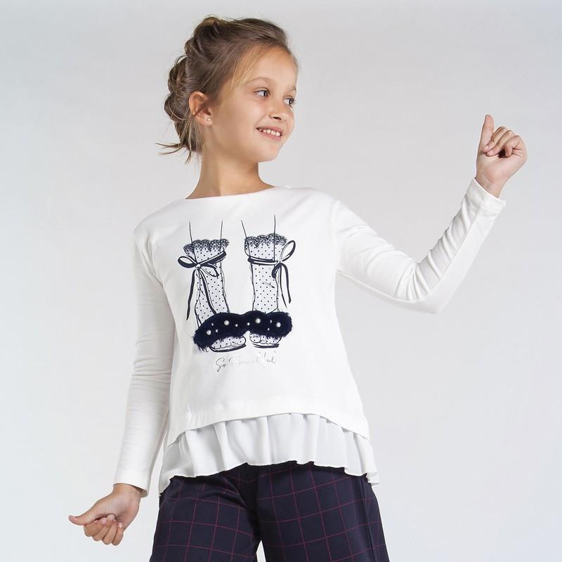 T-shirt manche longue...