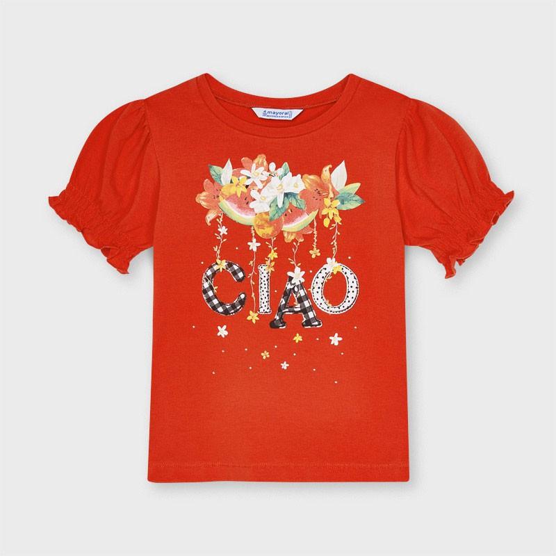 T-shirt Ecofriends ciao fille