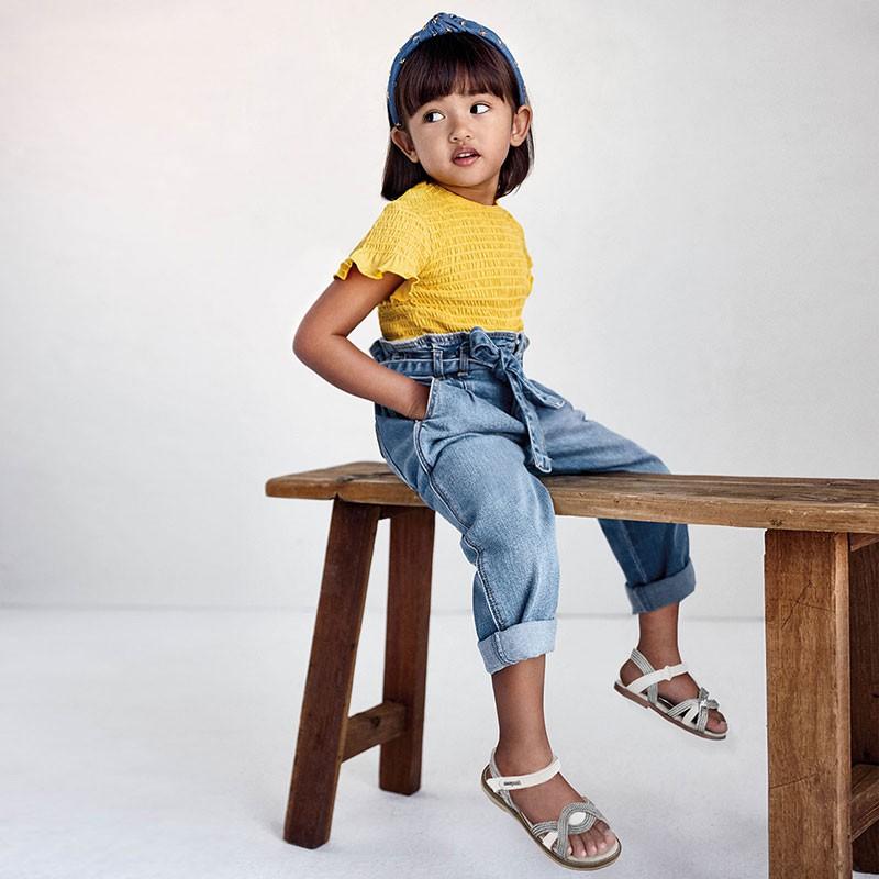 Pantalon slouchy fille