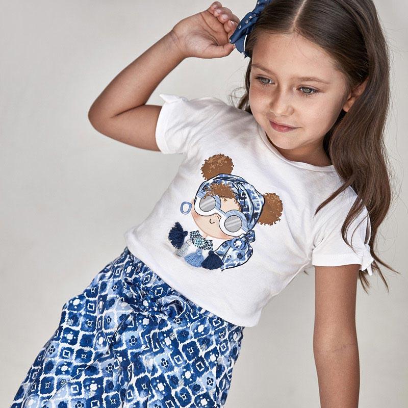 T-shirt Ecofriends motif fille
