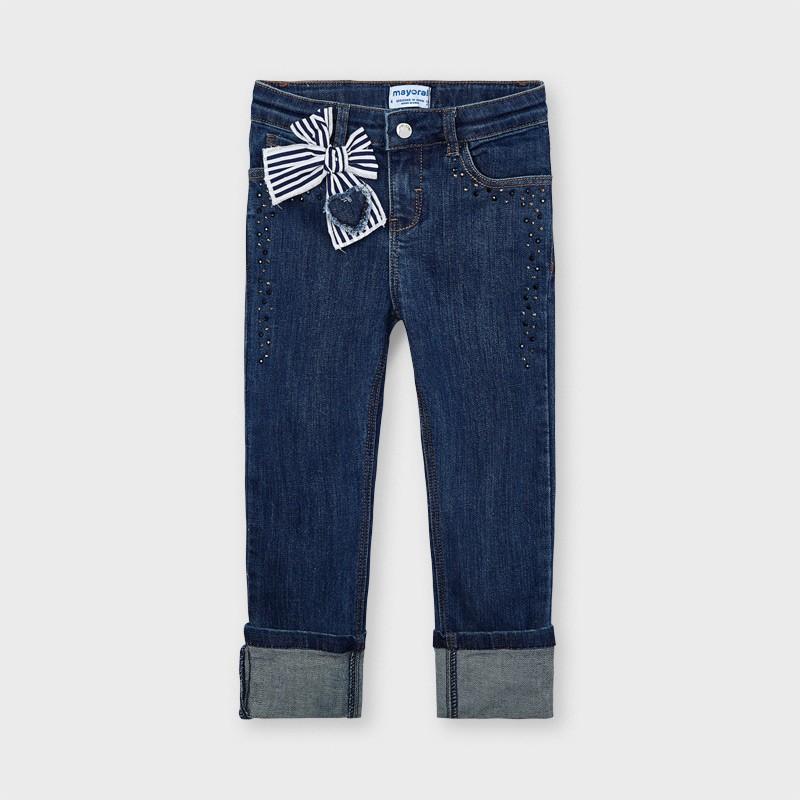 Pantalon nœud fille
