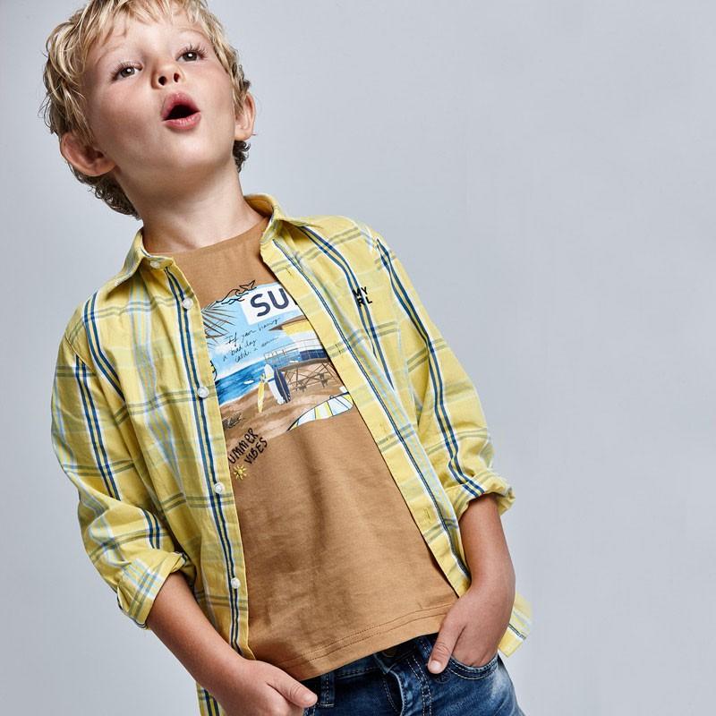 T-shirt Surf coton durable...