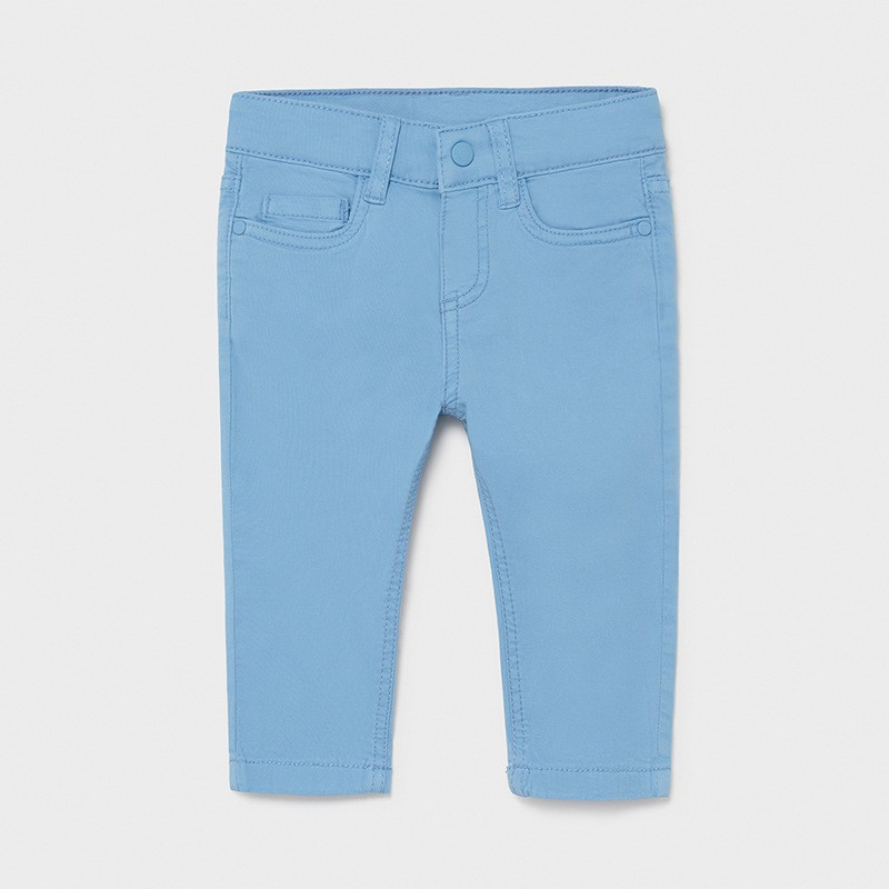 Pantalon long sergé slim...