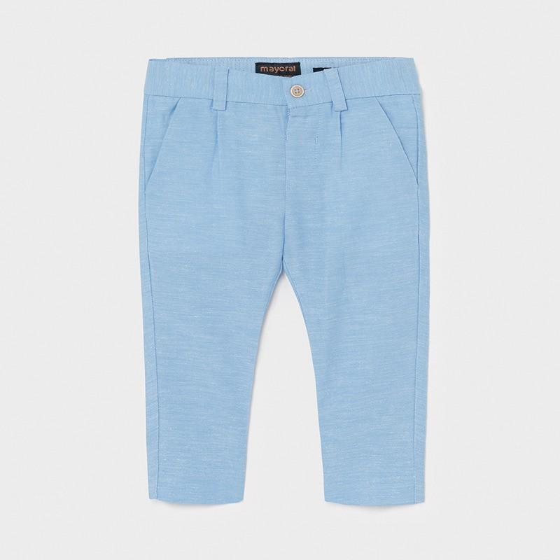 Pantalon long lin habillé...