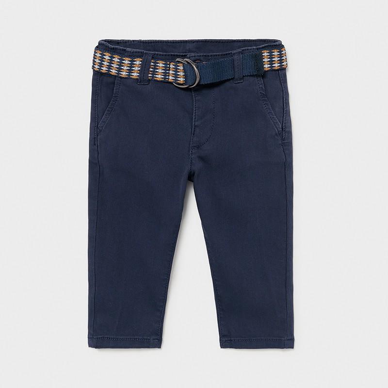 Pantalon long piqué avec...