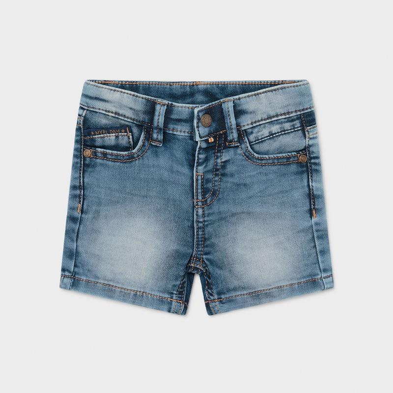 Bermuda soft jean coton...