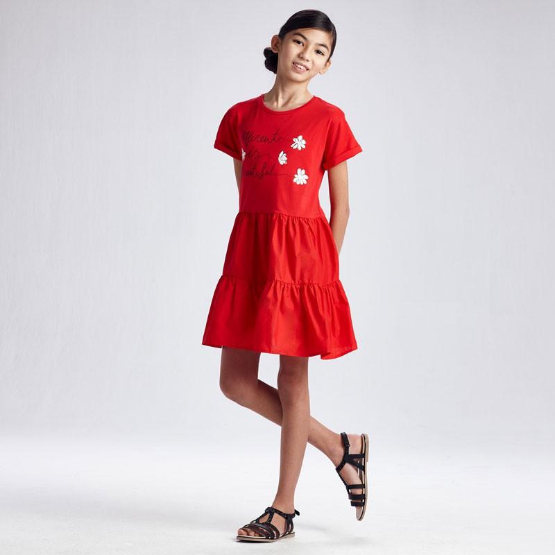 Robe combinée fille