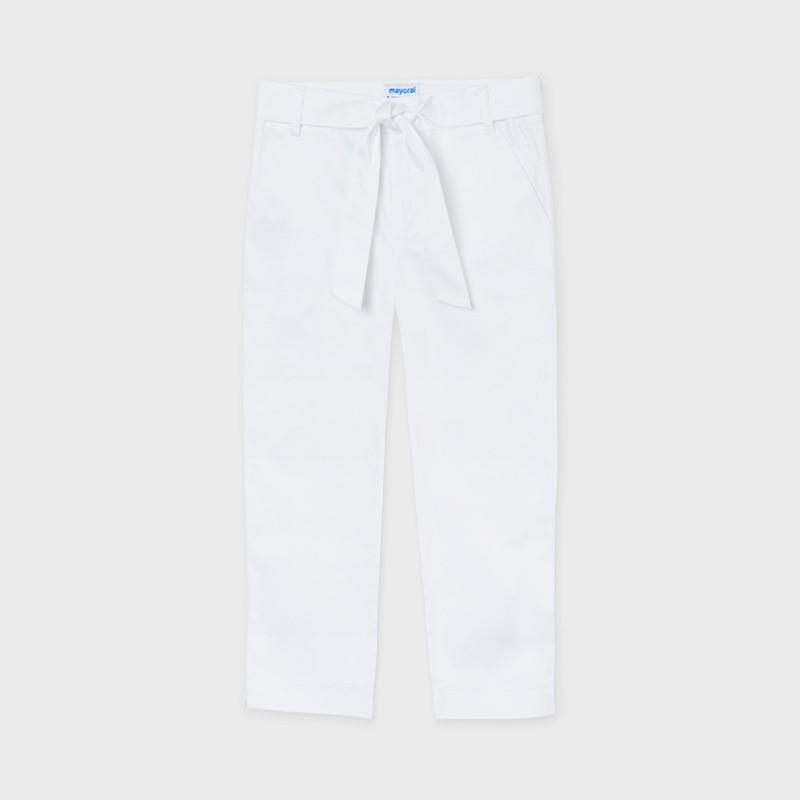 Pantalon long satin fille
