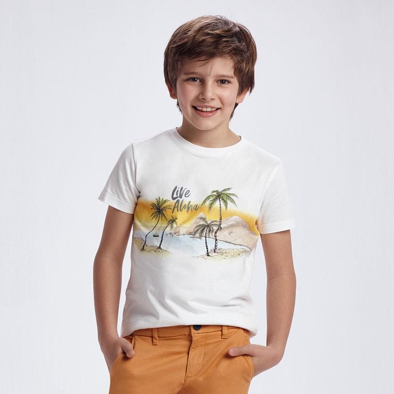 T-shirt manche courte live...